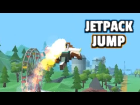 Jetpack Jump - Gameplay Trailer (iOS, Android)