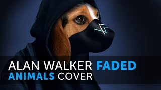 Gambar cover Alan Walker - Faded (Animals Cover) versi Hewan
