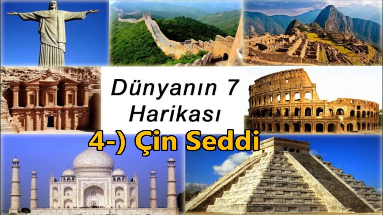 Dünyanın (Yeni) 7 Harikası Nelerdir Nerededir