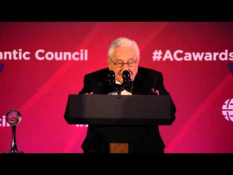 Global Citizen Awards Remarks by General Scowcroft and Henry Kissinger
