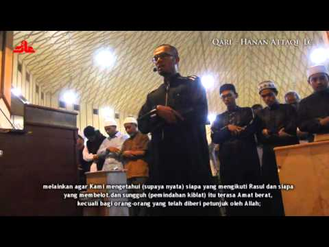 (AIPH) Live taraweh Al-Baqarah 142-145 Beautiful Qur'an recitation by imam hanan attaqi, Lc.