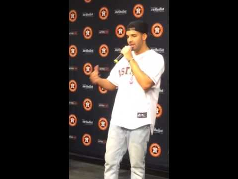 Drake discussing what Houston means to him