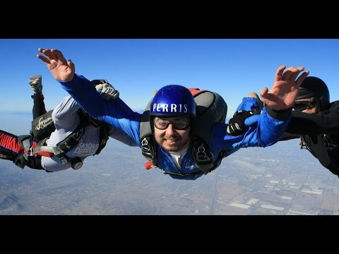 AFF LEVEL 1 SKYDIVING SCHOOL AT SKYDIVE PERRIS - PART TWO - 12/6/2012