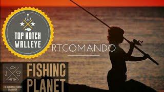 """Fishing Planet Campeonato  Top Notch Walleye """"O Melhor Picão de todos"""" PS4"""