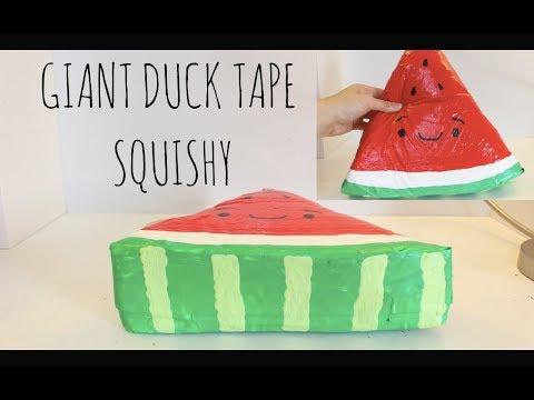 DIY GIANT DUCK TAPE SQUISHY!