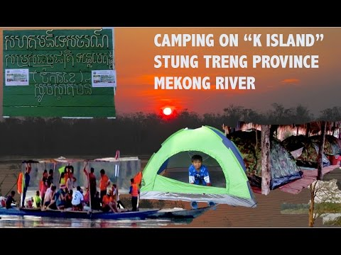 K Island Resort at Stung Treng Province | Mekong River Community Based Eco-Tourism