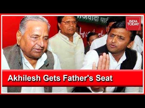 Akhilesh Yadav To Contest From Mulayam Singh's Azamgarh Seat