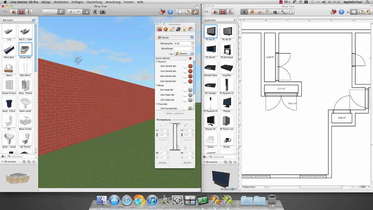 Mac App Review Live Interior 3d Deutsch Hd Youtube