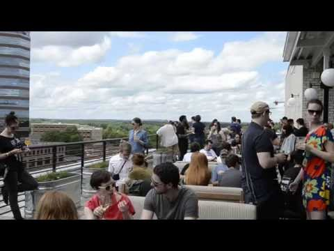 VIP Toast on the Rooftop  @ The Durham Hotel - Moogfest 2016 Durham NC