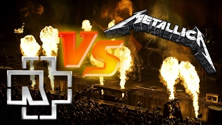 Муз.диспут - Metallica vs Rammstein (Rock battle)