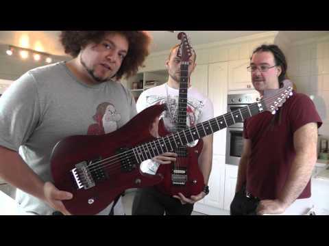 Dorje guitar of the day - Washburn N4 Paduak