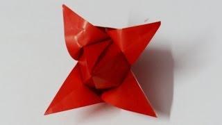 How To Make Origami Tulip / Origami Paper Craft