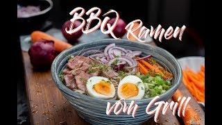 BBQ Ramen | Ramen Suppe vom Grill