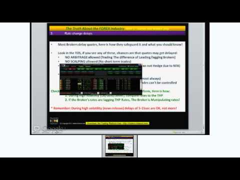 The Truth About the FOREX Industry   PART 1   Games that Brokers Play