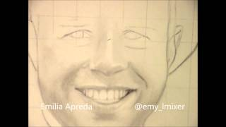 @OllyOfficial Olly Murs Drawing Time Lapse By Emilia Apreda