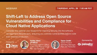 Webinar: Shift-Left to Address OS Vulnerabilities & Compliance for Cloud Native Applications