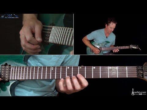Metallica - Am I Evil? Guitar Solo Lesson