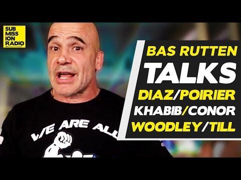 "Bas Rutten: Conor McGregor ""Has A Puncher's Chance"" vs. Khabib Nurmagomedov"