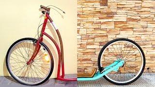 Restaurar una Bicicleta Oxidada con Poco Dinero (o Patinete) | Restauracion Completa