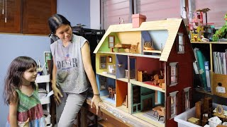 "Homeschool Project ""Making a Dollhouse"" Finishing the Interior"
