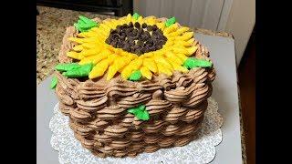 видео Как красиво украсить шоколадный торт