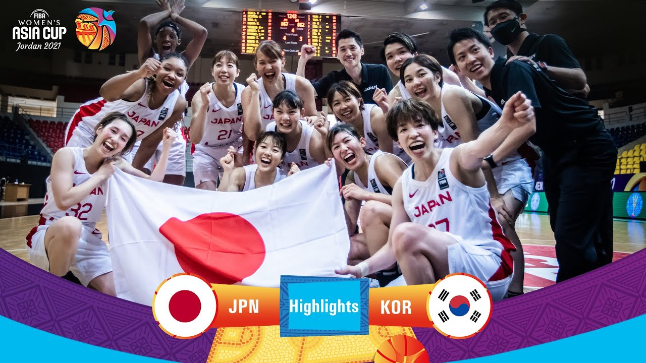 Japan - Korea   Highlights - FIBA Women's Asia Cup 2021