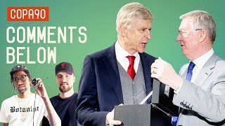 Wenger Receives Classy Old Trafford Send-Off from Ferguson | Comments Below