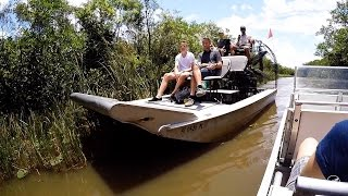 GATOR PARK EVERGLADES - Alligator tours with Airboat - Miami Florida USA