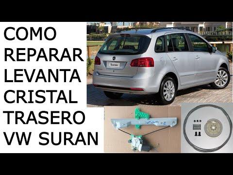 Como Reparar Levanta Cristal Trasero VW Suran