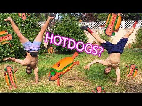 DANCING HOT DOG CHALLENGE w/Joe Wegner