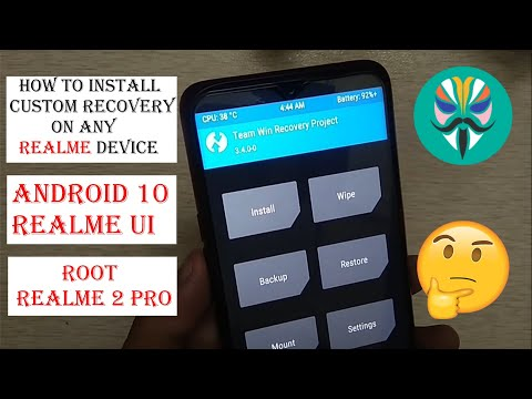 Install TWRP and Root Realme 2 Pro | Step by Step Guide | Easy Method Guys, In this video I have sho.