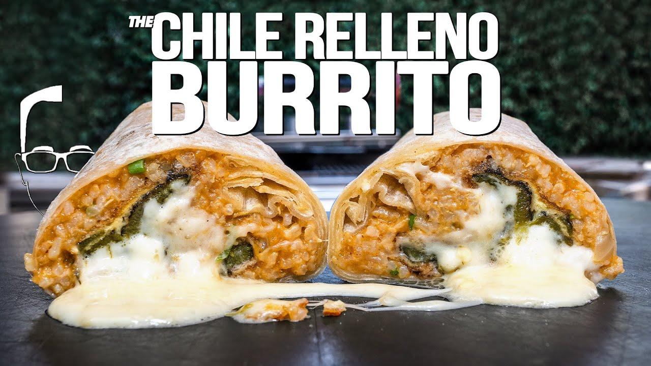 THE CHILE RELLENO BURRITO...OMG! | SAM THE COOKING GUY