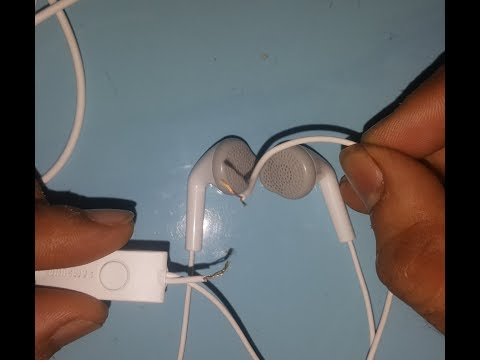 How to repair or joint Earphone/Headphone in Hindi,  Samsung , Oppo , Vivo  and other company
