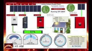 Solar 48 volt Hybrid  - Off Grid System.  Program update.  Chat