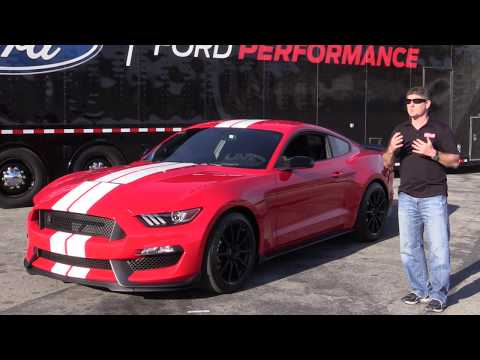 Shelby GT350 Ford Mustang Review From Laguna Seca Amazing Engine Sound!