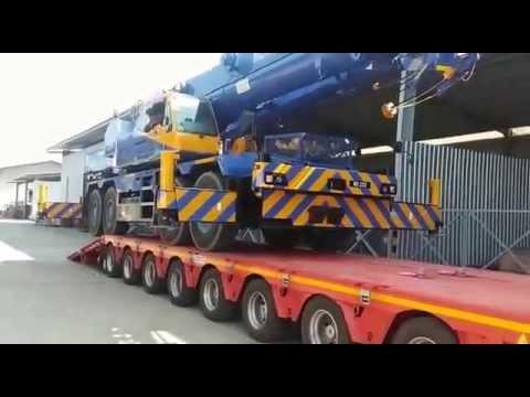 Tadano CREVO 700 Loading on to Cometto XA84DAH