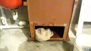 Парапетный газовый котел