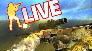 LIVE AO VIVO DE CS:GO COMPETITIVO! RUMO AO GLOBAL COM OS LEKS 😂