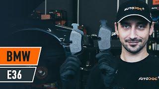 Como substituir Calços de travão BMW 3 (E36) - vídeo guia