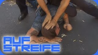 Doppelter Einsatz: Warum wird er auf den Boden gezwungen? | Auf Streife | SAT.1