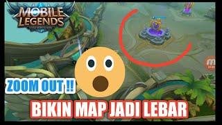 CURANG ? MAP JADI LEBAR !! HERO MUSUH OTOMATIS KELIATAN !! - MOBILE LEGEND INDONESIA