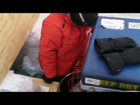 Antarctic trip 2012-2013: SouthPole Station sys4 Test 4EBox 4Cable 6FGM