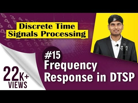 What is Frequency Response in Discrete Time Signal Processing