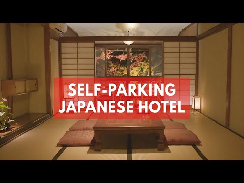 Nissan introduces mind-blowing Japanese hotel with self-parking furniture