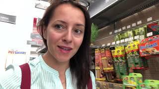 132# Магазин для животных в Америке..PetSmart..Что мы покупаем для своих питомцев..