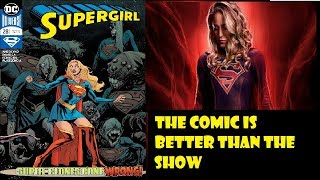 Supergirl Comic Is Better Than The TV Show Issue 28 Review