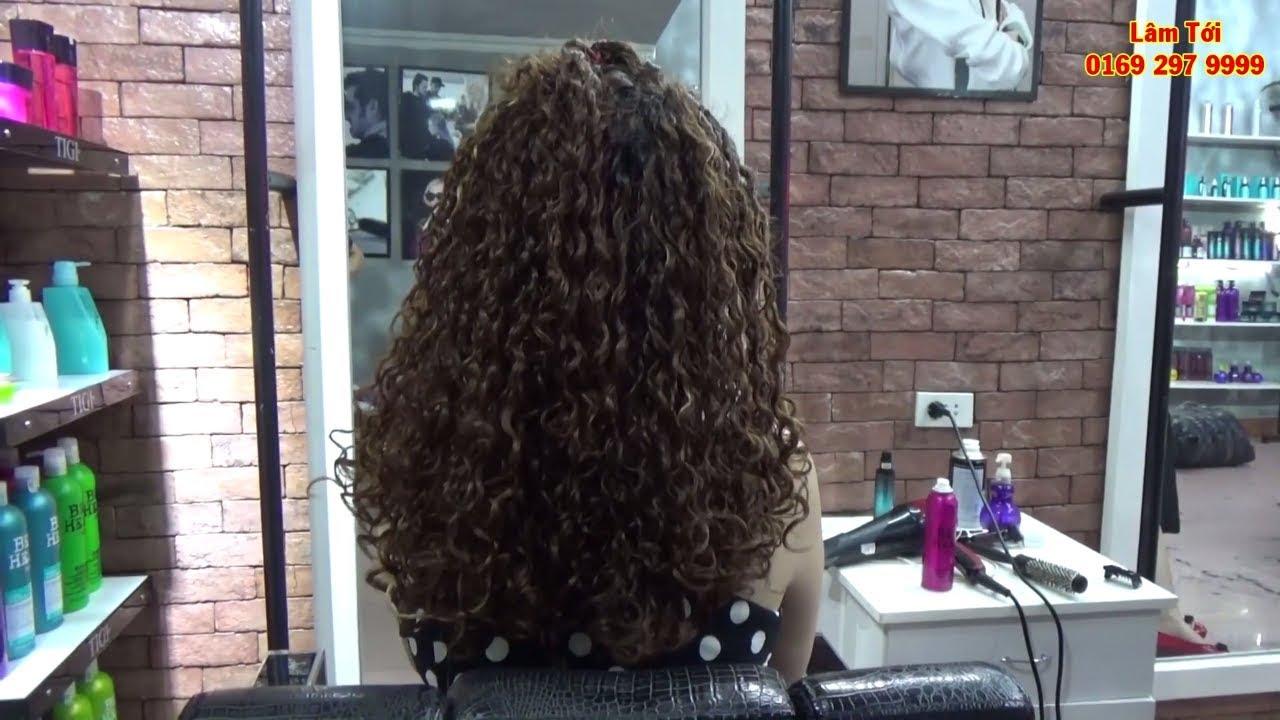 Kiểu Tóc Soăn Điệu Đà Quý Phái Dành Cho Phụ Nữ  Hướng Dẫn Cách Làm Salon Hair Dương Lâm