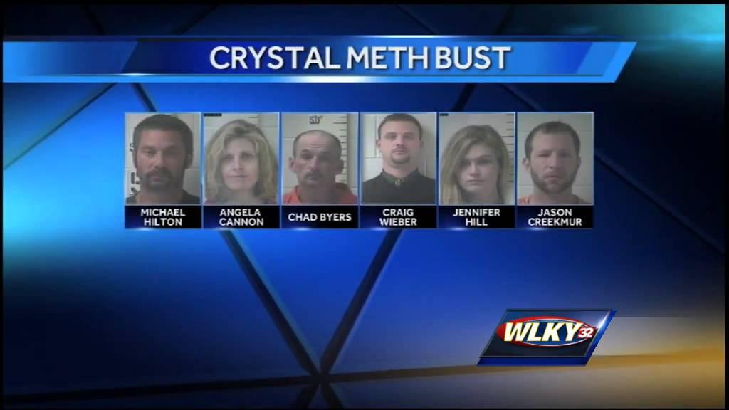 Several arrested in drug bust