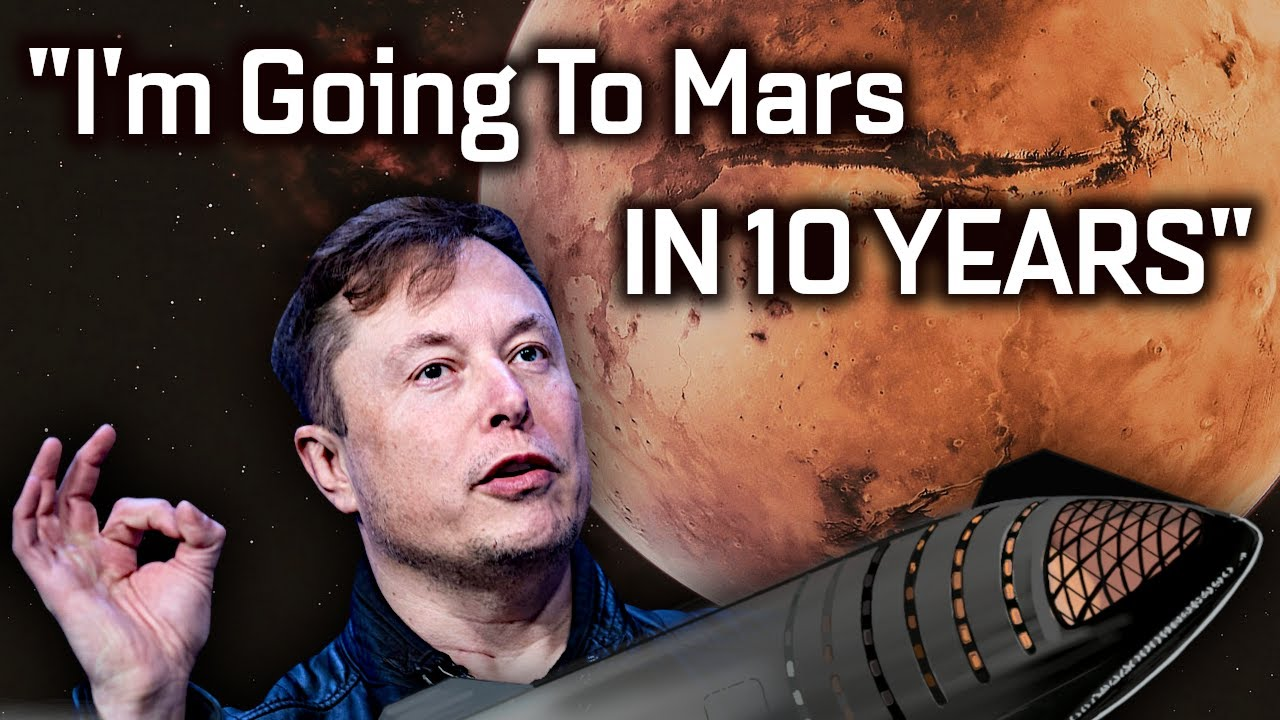 Elon Musk's updated Mars timeline for SpaceX Starship
