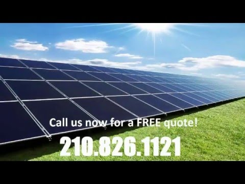 San Antonio Solar Company - 210.826.1121